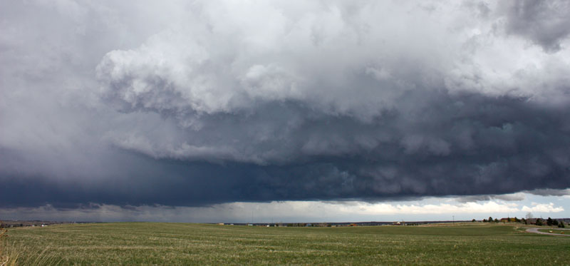Inflow east of Parker