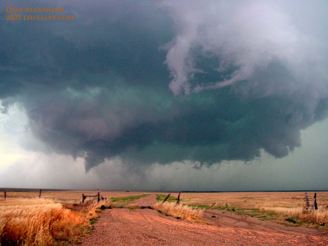Trego County Tornado, June 14, 2005