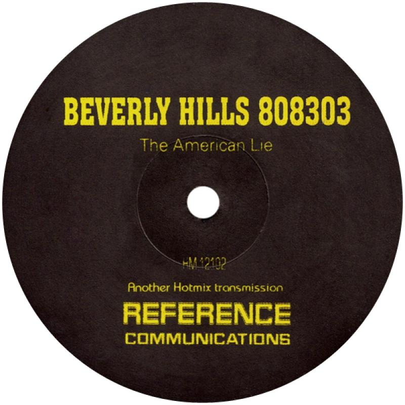 Beverly Hills 808303 - The American Lie Untitled - Reference Analogue Audio HM 12102 - 1994