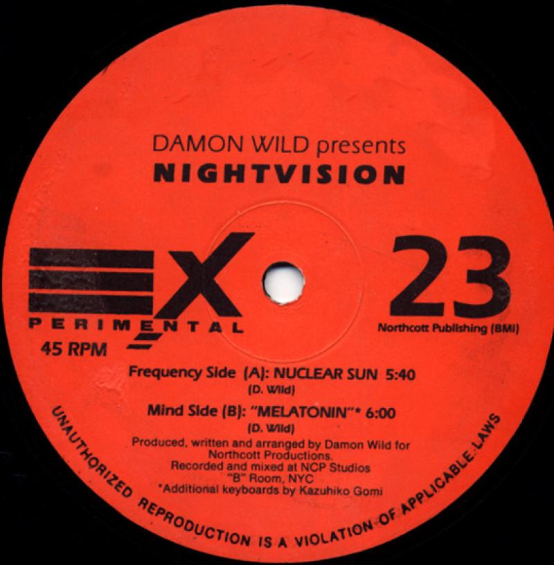 Damon Wild presents Nightvision - Nuclear Sun - Experimental 23 - 1993