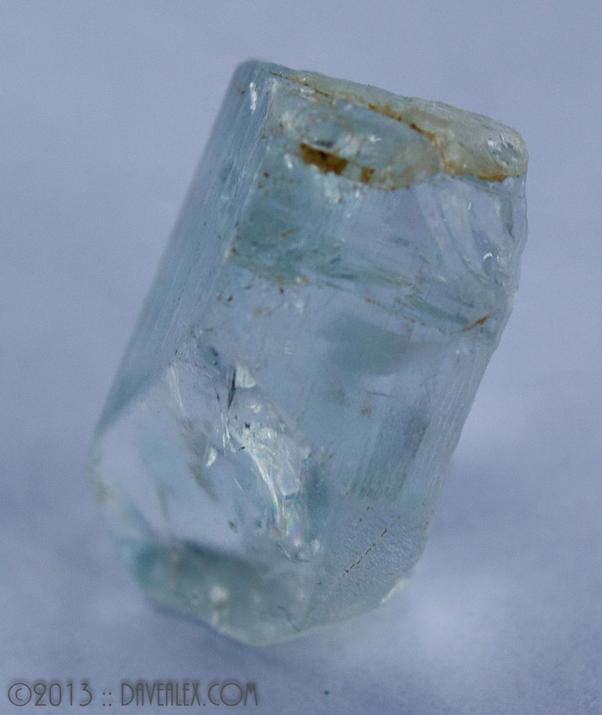 Another shot of Hunter's topaz
