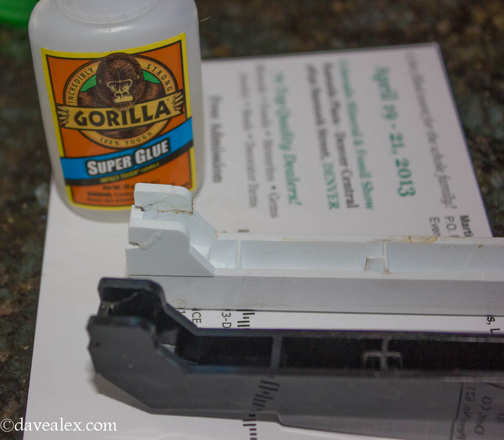 Super glue fix...