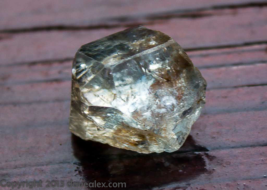 One of my topaz from today's digs...