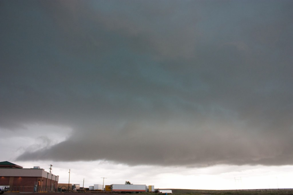 Storm as it passed over Limon