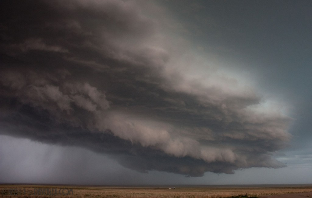 Awesome shelf cloud