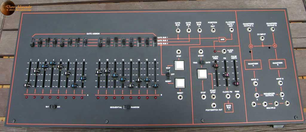 Arp 1623 Sequencer