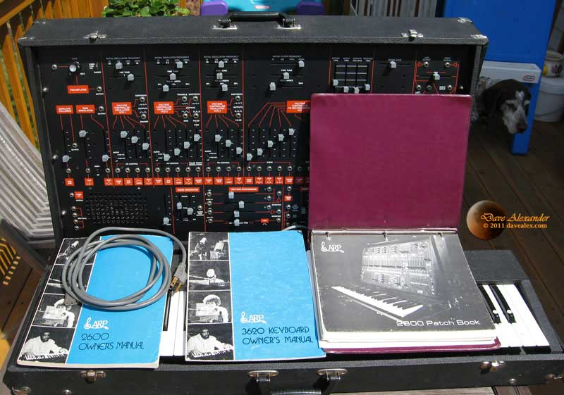Arp 2600 Rev 3 + Keyboard