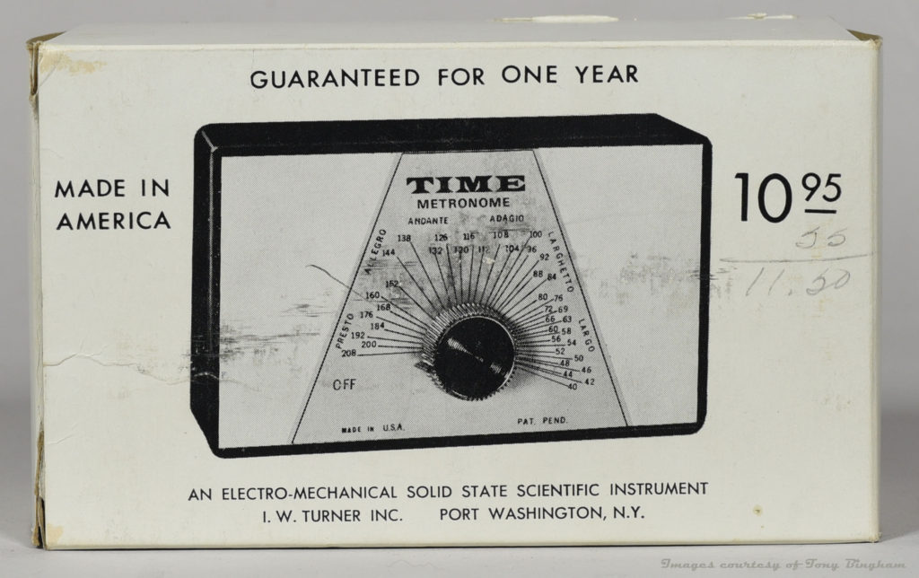 IW Turner Time Metronome