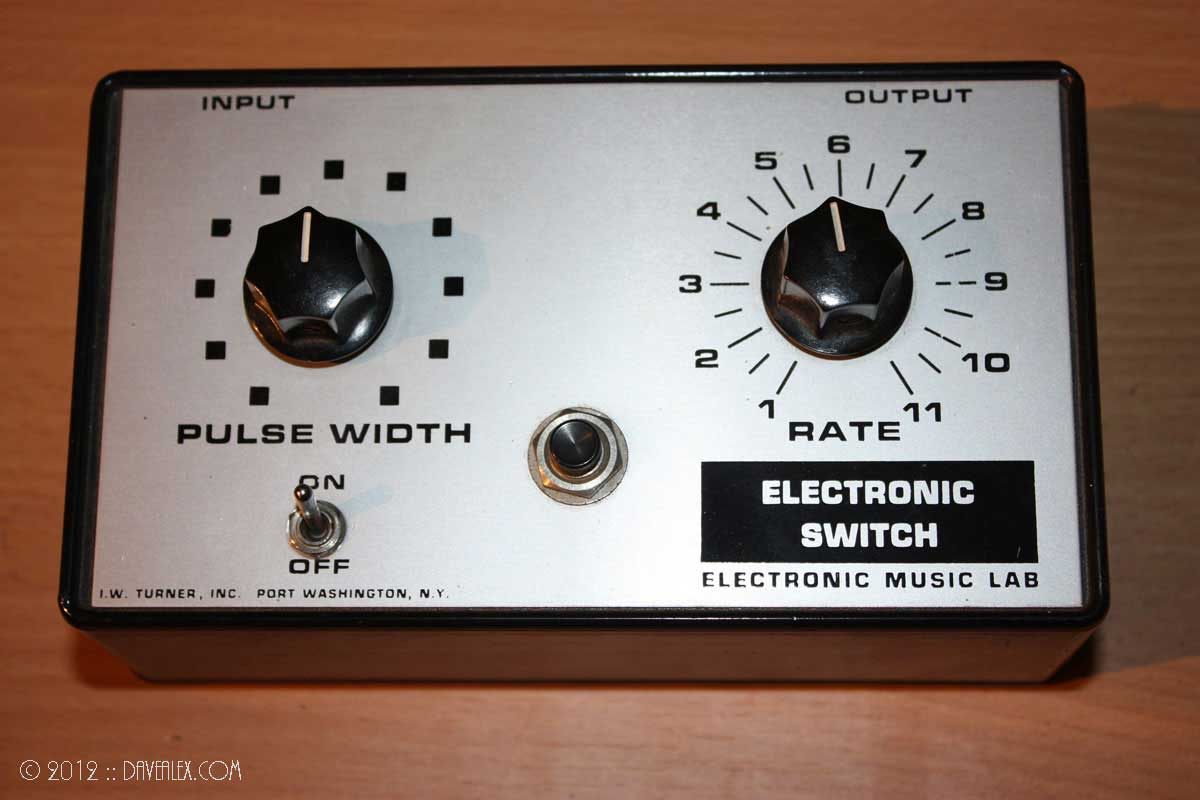 I.W. Turner, Inc. Electronic Music Lab Electronic Switch