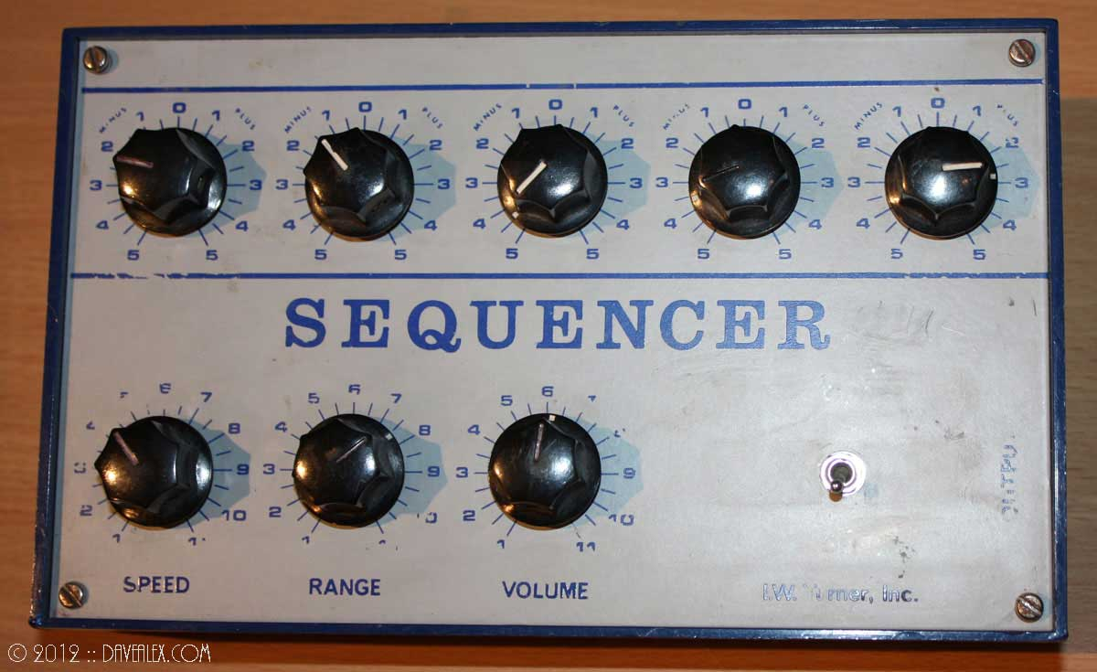I.W. Turner, Inc. Electronic Music Lab Sequencer