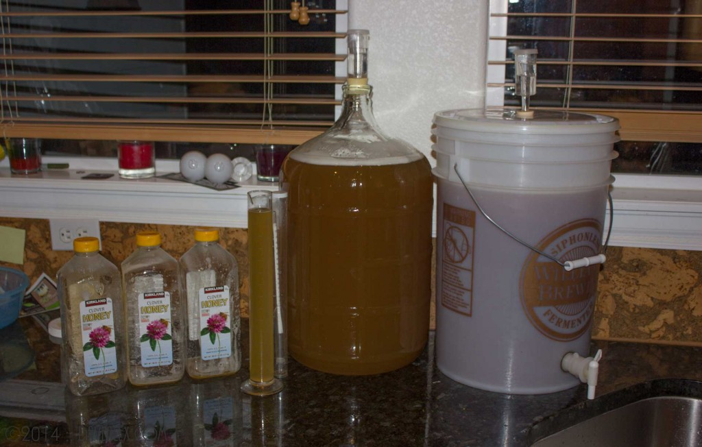 10 gallons of Metheglin Fermenting