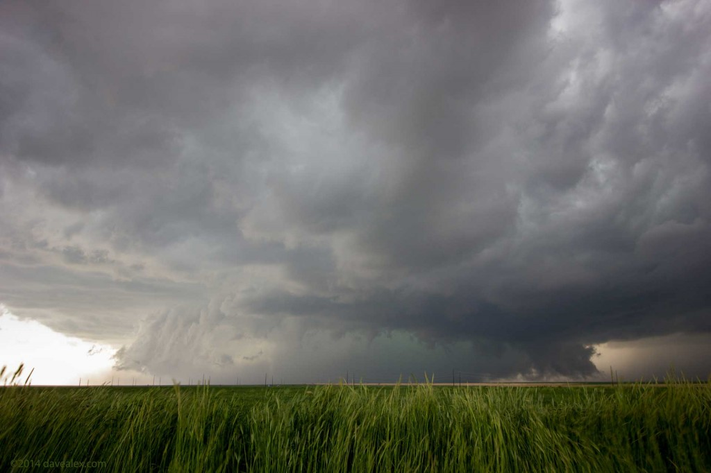 Mature supercell