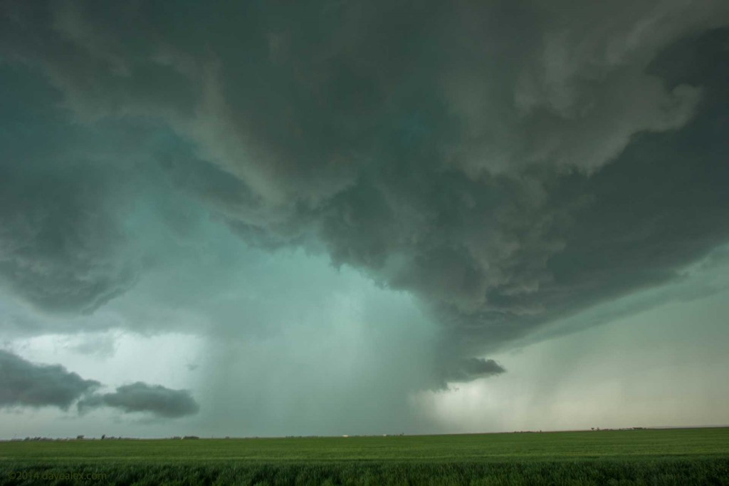 Nasty supercell