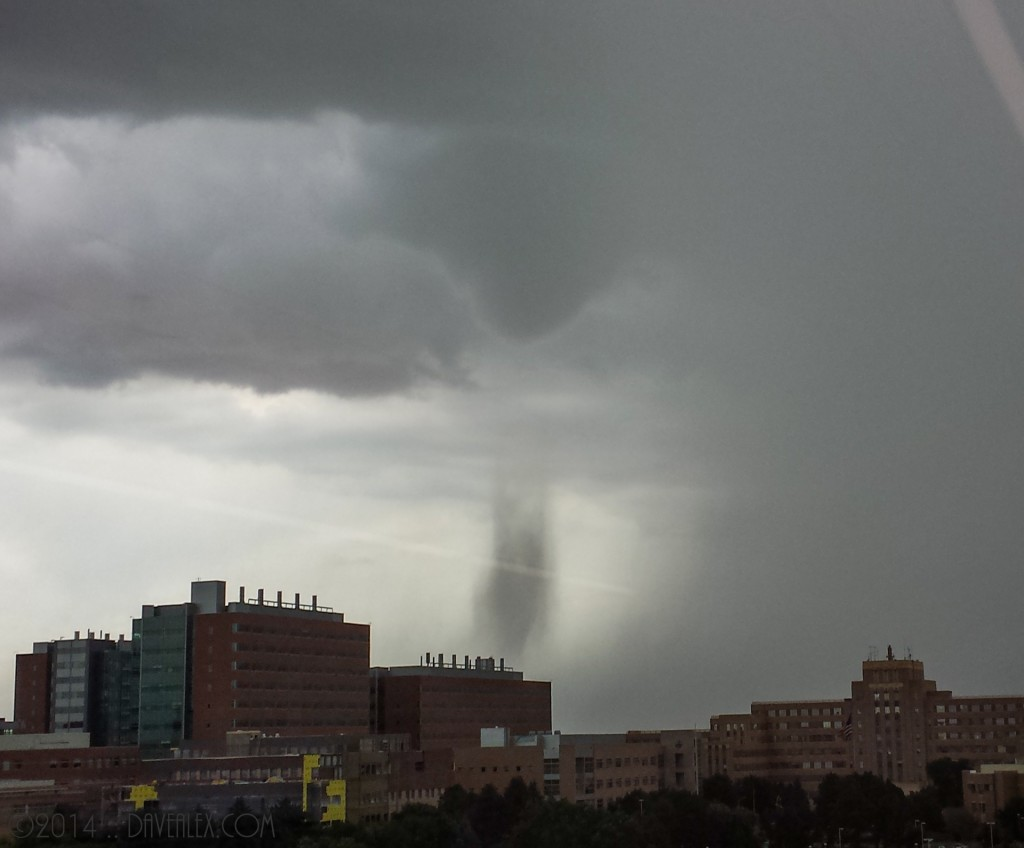 July 28, 2014 Rocky Mountain Arsenal - landspout tornado