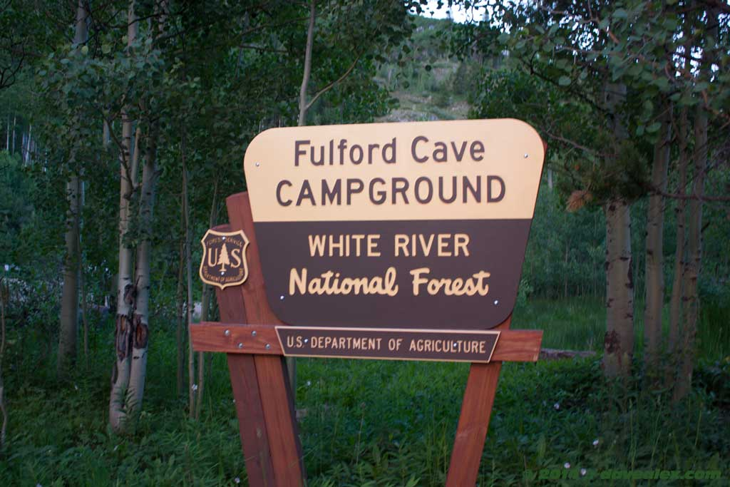 Fulford Campground was $8 per site, first come first serve.