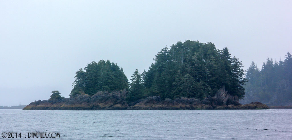 Landmark island from Kirby fishing area.