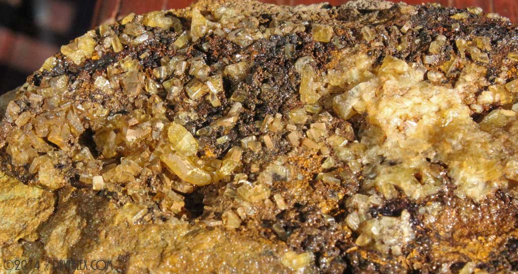Yellow Barite, Gilman District, Eagle County Colorado