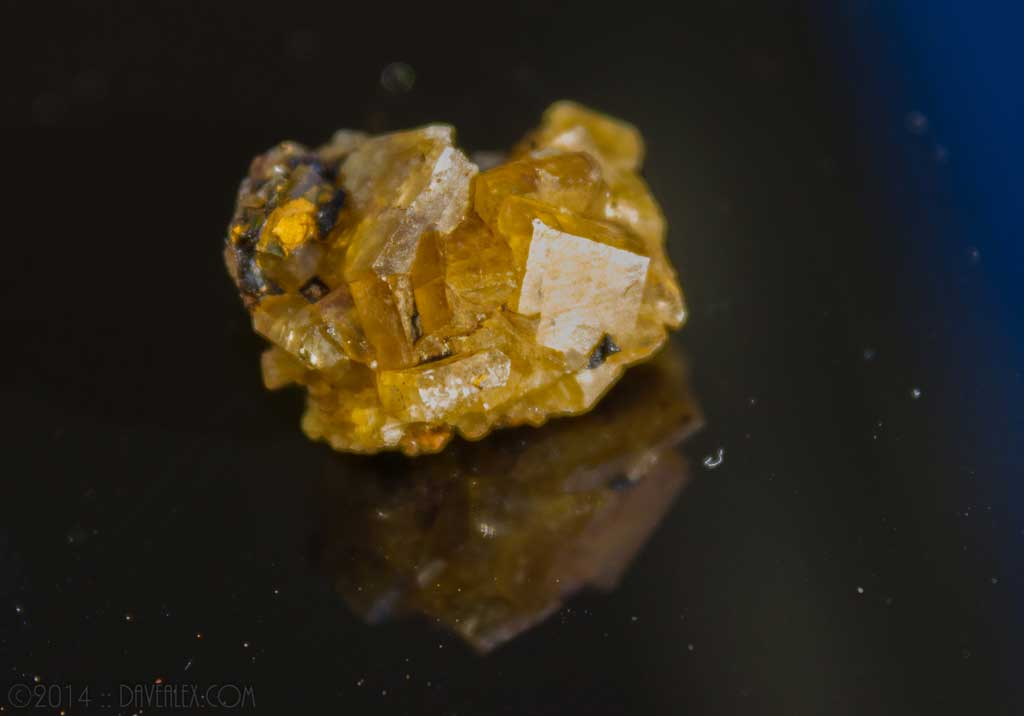Yellow Barite, Gilman District, Eagle County, Colorado