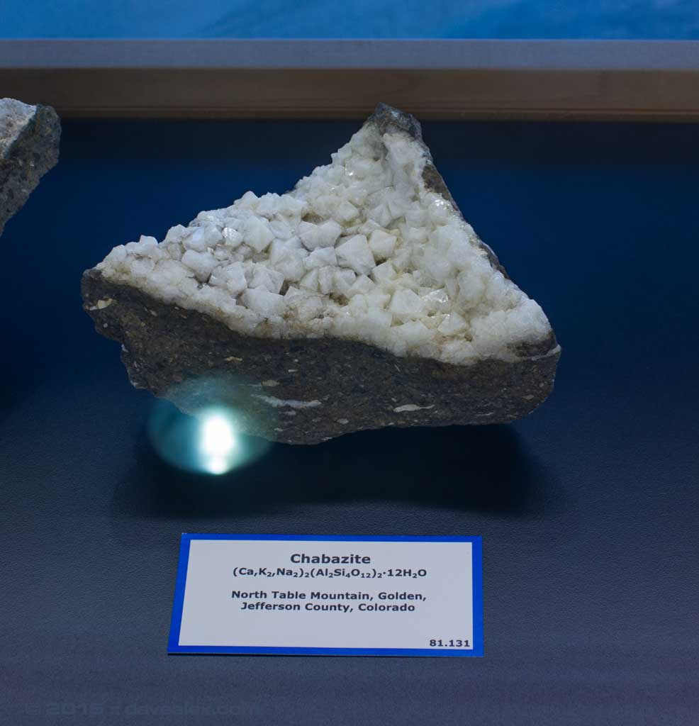 North Table Mountain Chabazite