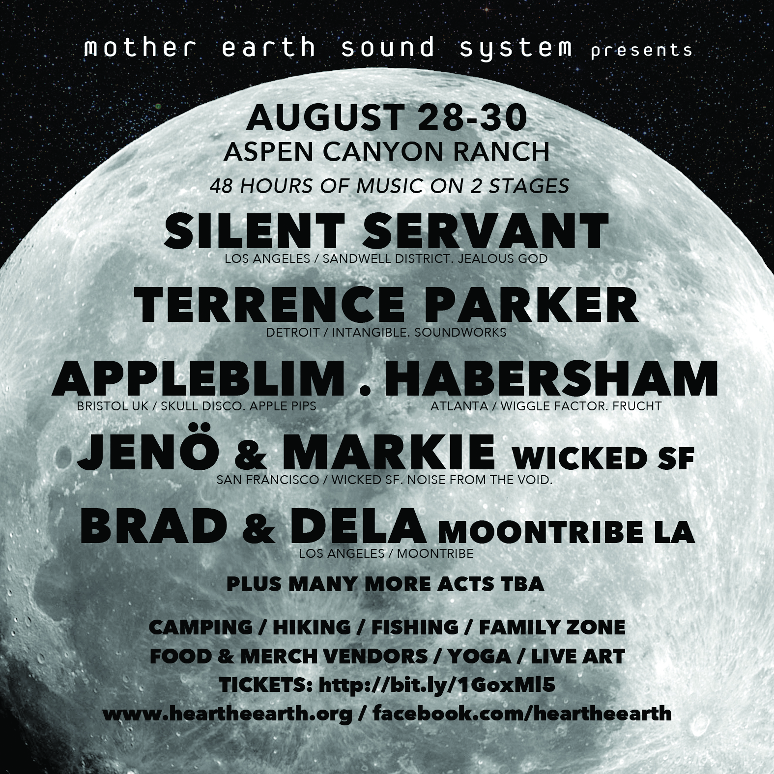 Mess Full Moon lineup