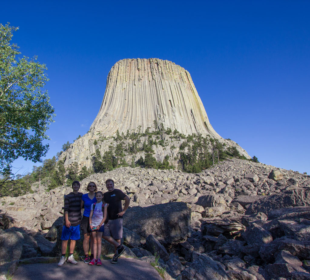 Devils Tower from the west