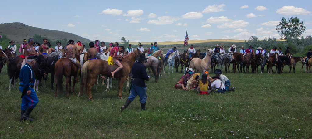 Little Bighorn Reenactment 2015