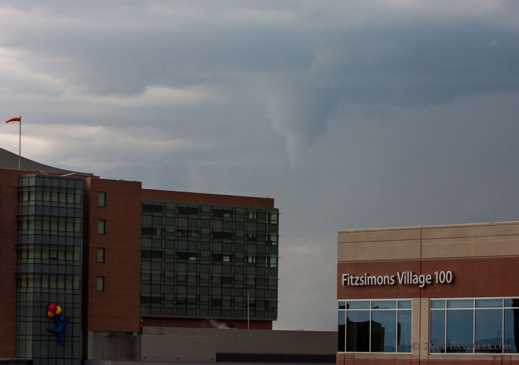 Aurora Funnel Cloud