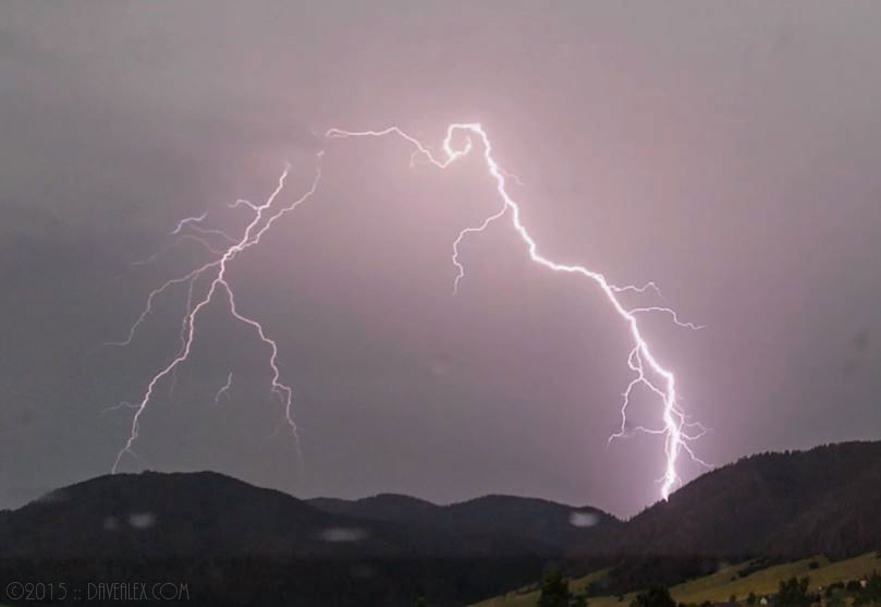 Rampart Range Lightning