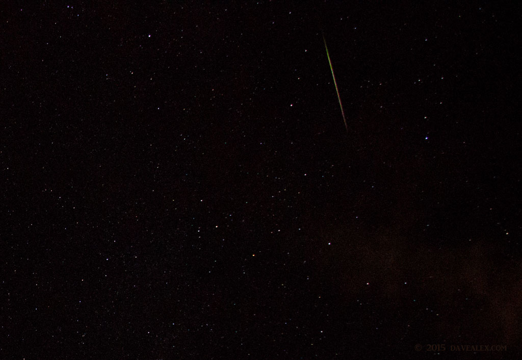2015 Perseids shooter