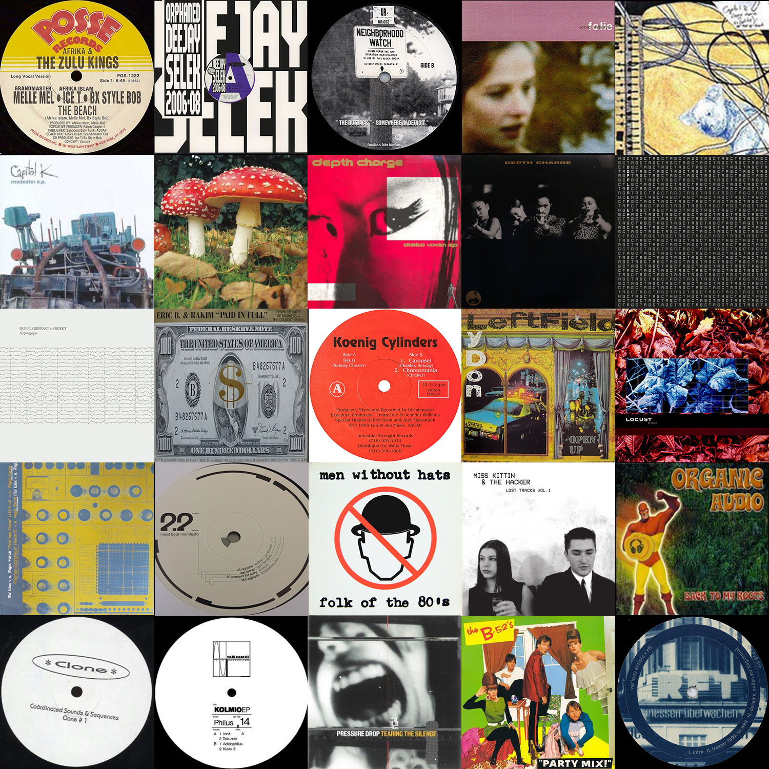 Collage of the records I digitized this round.