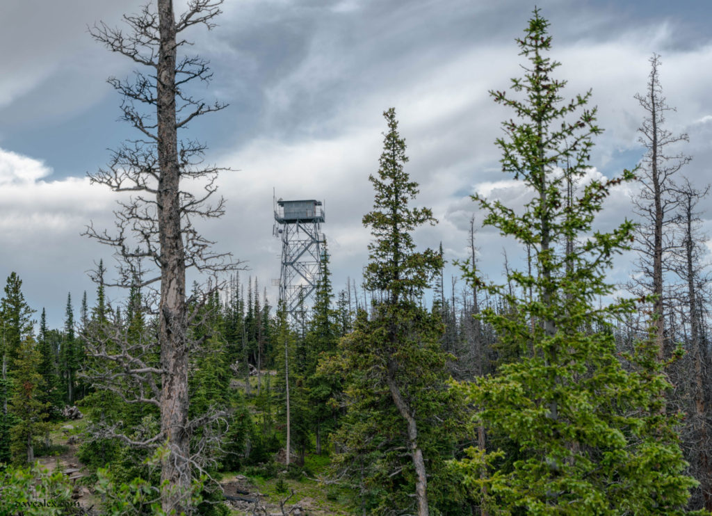 Deadman fire watch tower