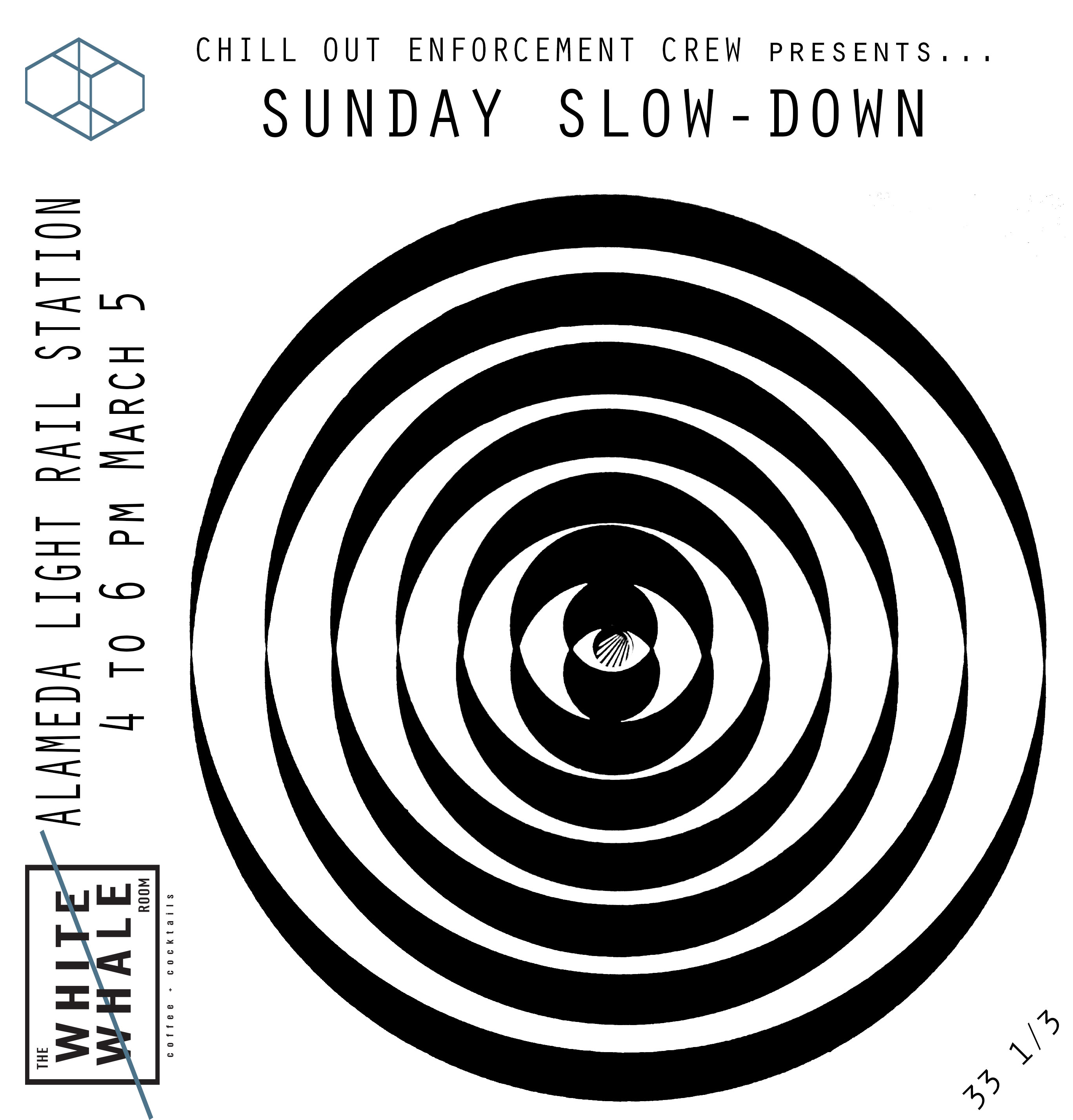 Sunday Slow-Down live electronic music