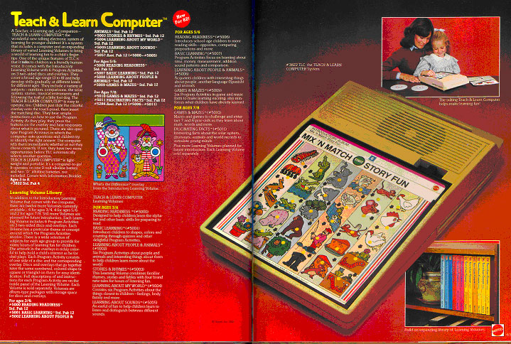 Mattel Teach and Learn Computer