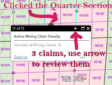 Active Claims Header