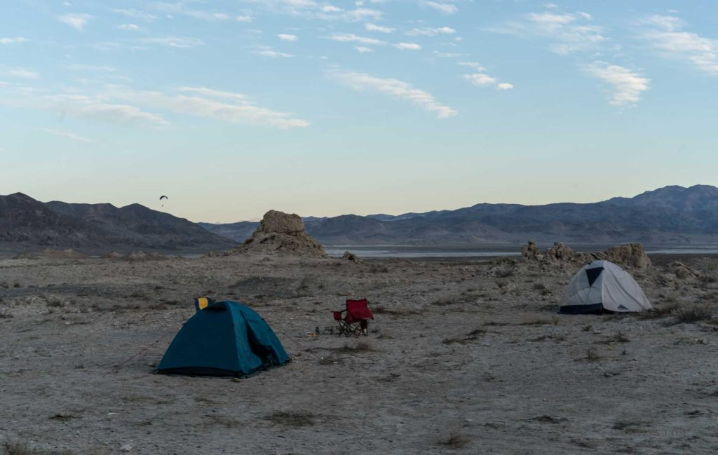 Trona Pinnacles Campsite