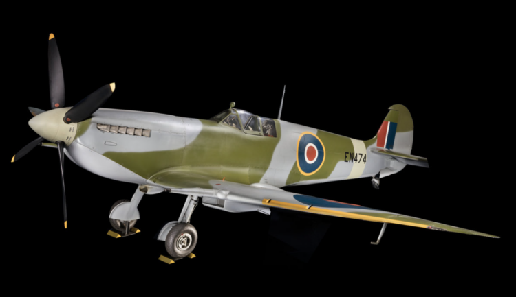 Spitfire featured in Smithsonian Treasures